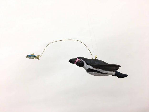 木彫体験。飛ぶペンギンを彫ろう!(1回目/2セット講座) @ 台東区 | 東京都 | 日本