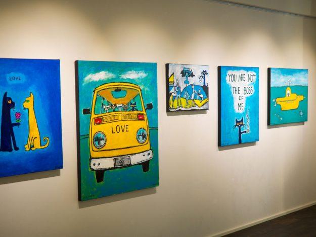 常設展 PETE THE CAT展 @ gallery kissa | 台東区 | 東京都 | 日本